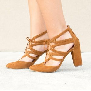 Halogen Lace Up Heels